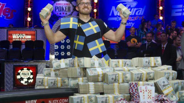 ポーカー世界大会で優勝したマーティン