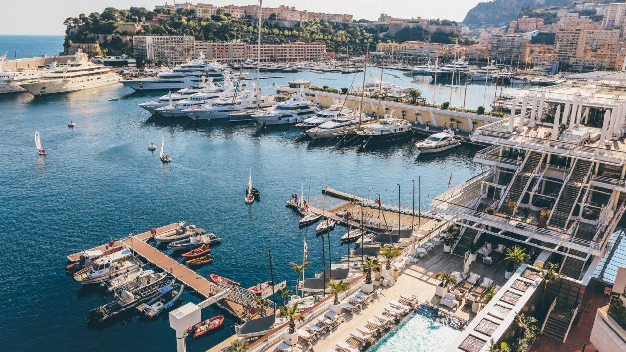 モナコの港