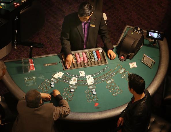 ヒッポドロームカジノのデーブルゲームの雰囲気