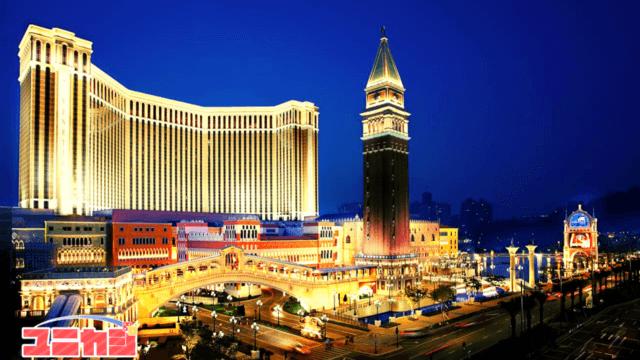 ヴェネチアンホテルの外観