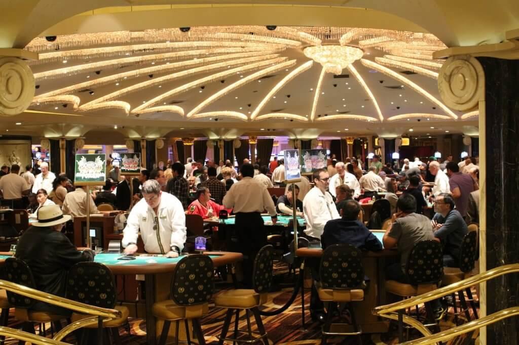 カジノ内の風景